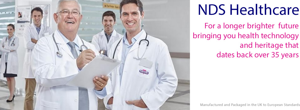 NDS Healthcare - For a longer brighter future bringing you health technology and heritage that dates back over 35 years